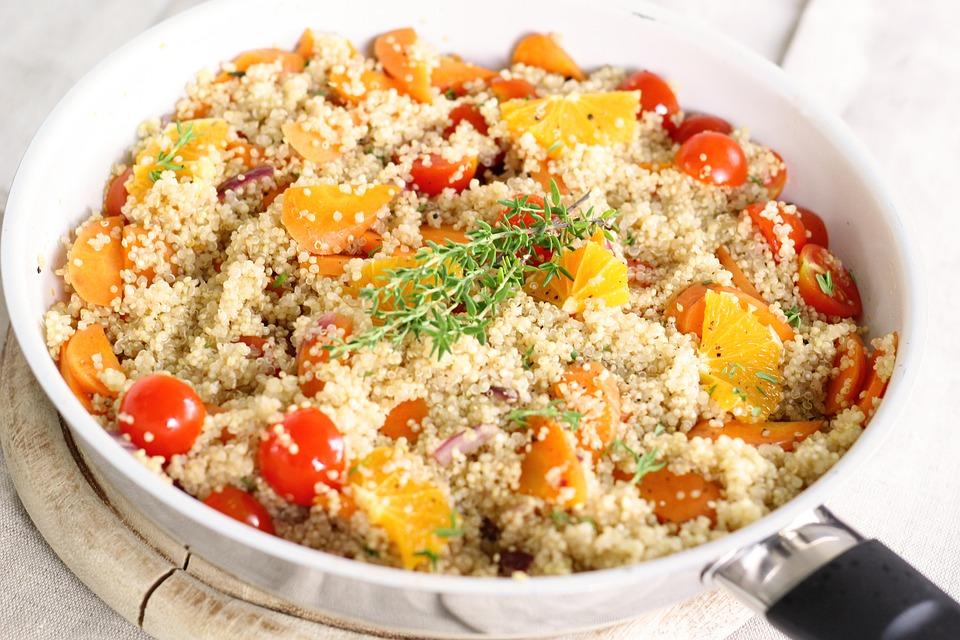 Quinoa con verdure - www.alimentazionesumisura.com